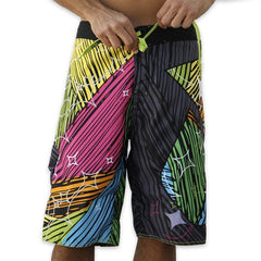 Dunkelvolk Adam Fields Pro Model AF1 Boardshort - Black - Mens Boardshorts