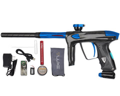 DLX Luxe 2.0 OLED Paintball Gun - Carbon Fiber/Blue