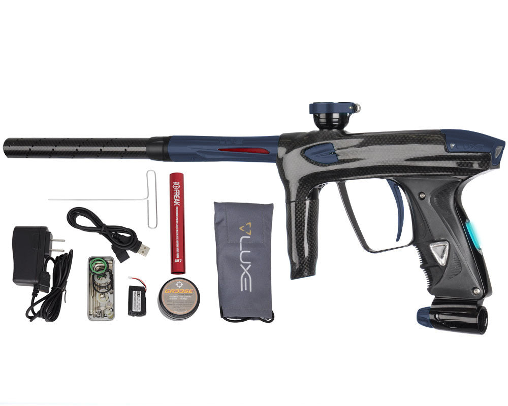 DLX Luxe 2.0 OLED Paintball Gun - Carbon Fiber/Dust Gun Metal