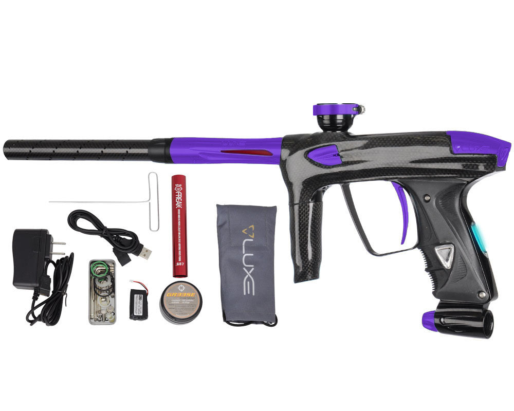 DLX Luxe 2.0 OLED Paintball Gun - Carbon Fiber/Dust Purple