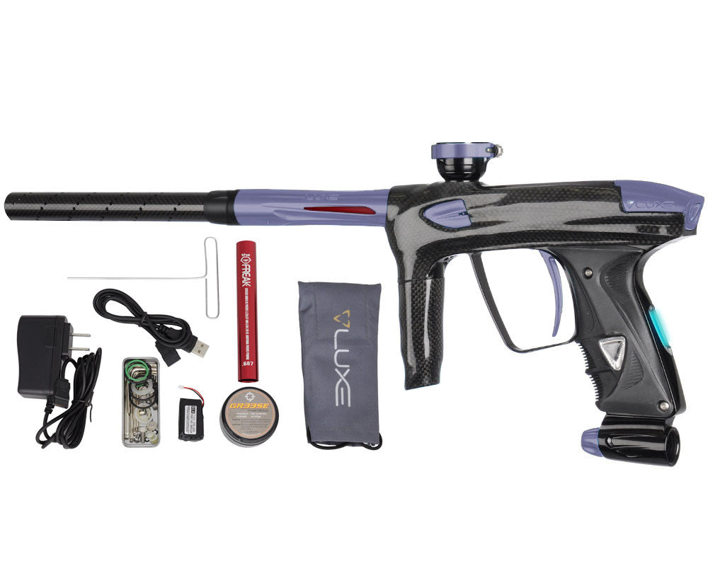 DLX Luxe 2.0 OLED Paintball Gun - Carbon Fiber/Dust Titanium