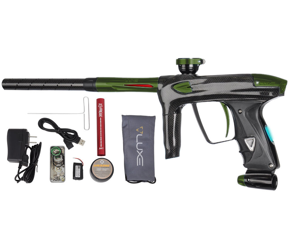 DLX Luxe 2.0 OLED Paintball Gun - Carbon Fiber/Olive