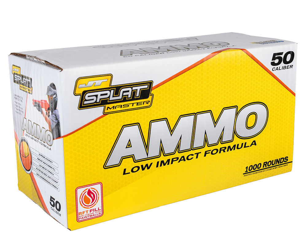 JT Splatmaster 1000ct Ammo - Orange Fill