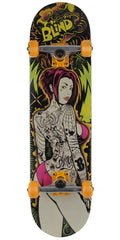 Blind Blacklight Girl - Multi - 8.0in - Complete Skateboard