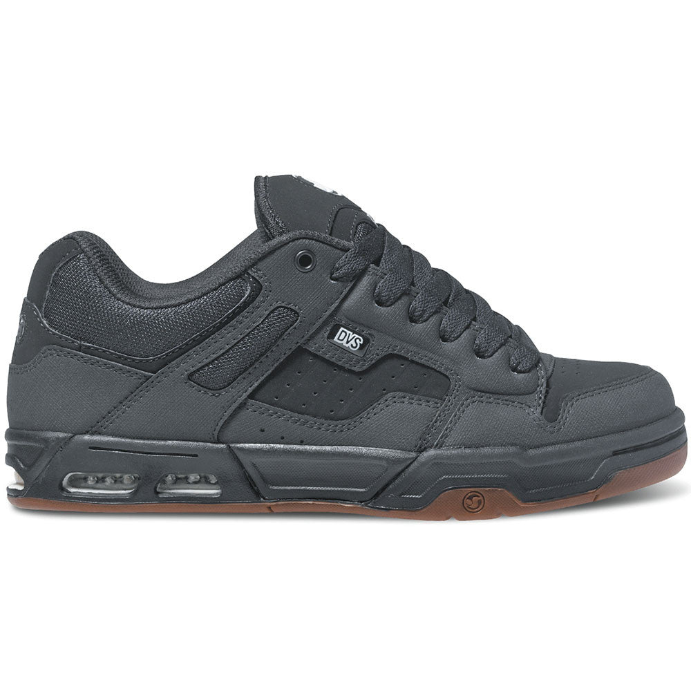 DVS Enduro Heir - Black/Gunny Nubuck 966 - Skateboard Shoes