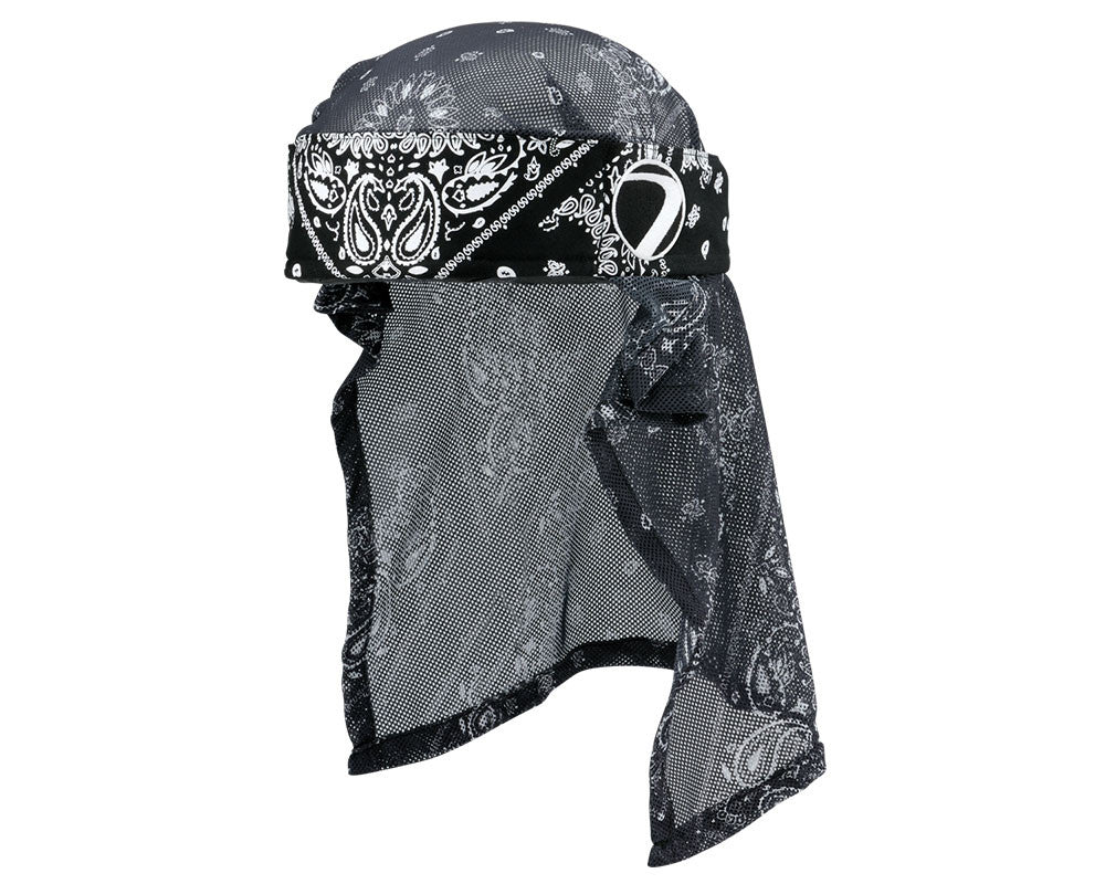 2015 Dye Head Wrap - Bandana Black