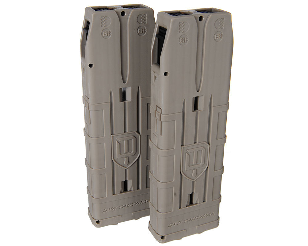 Dye Assault Matrix 20 Round Magazine - Dark Earth