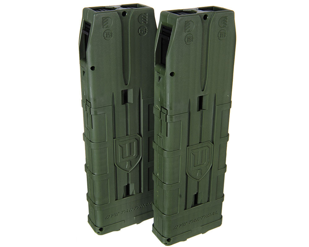 Dye Assault Matrix 20 Round Magazine 2 Pack - Olive