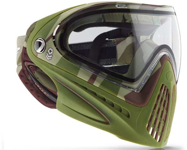 2015 Dye Invision Goggle I4 Pro Mask - Barracks Olive