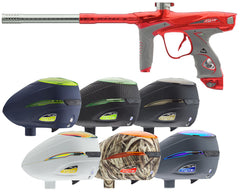 Dye DM15 Paintball Gun w/ Free R2 Loader - Red/Grey