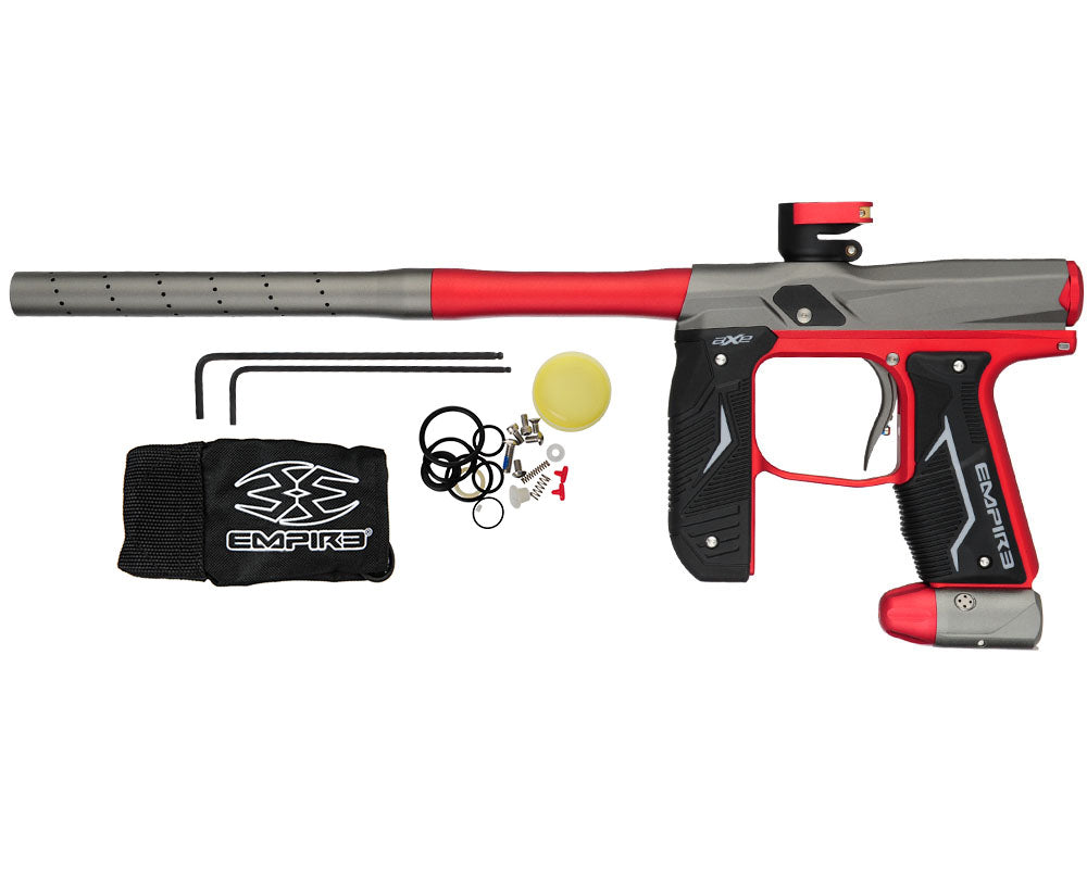 Empire Axe 2.0 Paintball Marker - Dust Red/Dust Grey