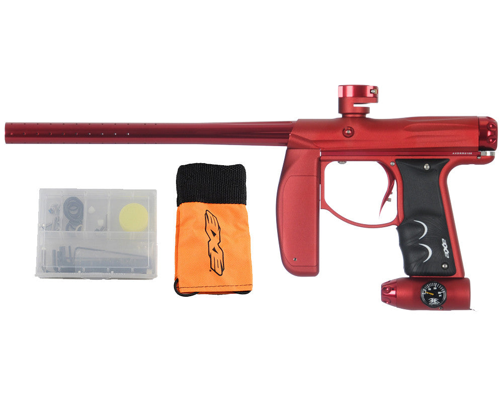 Empire Axe Paintball Gun - Dust Red/Polished Red