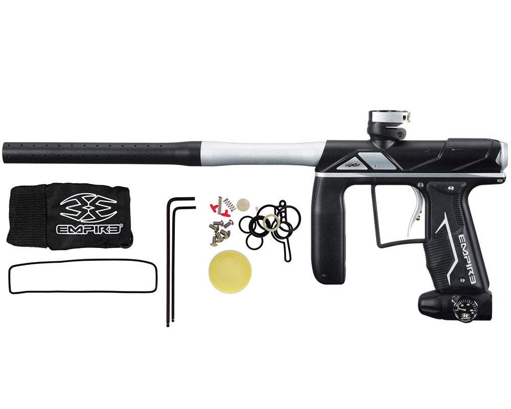 Empire Axe Pro Paintball Gun - Dust Black/Dust Silver