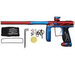 Empire Axe Pro Paintball Gun - SE Dust Red/Blue/Silver
