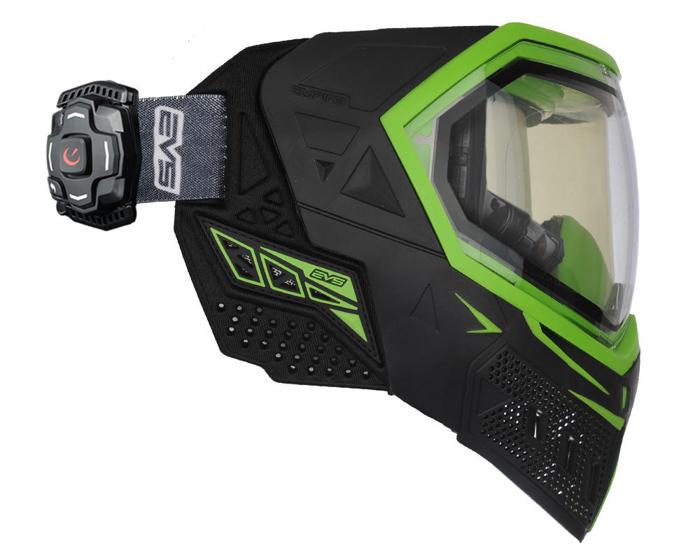 Empire EVS Mask w/ Recon Heads Up Display - Black/Lime