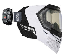 Empire EVS Mask w/ Recon Heads Up Display - White/Black