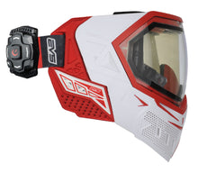 Empire EVS Mask w/ Recon Heads Up Display - White/Red