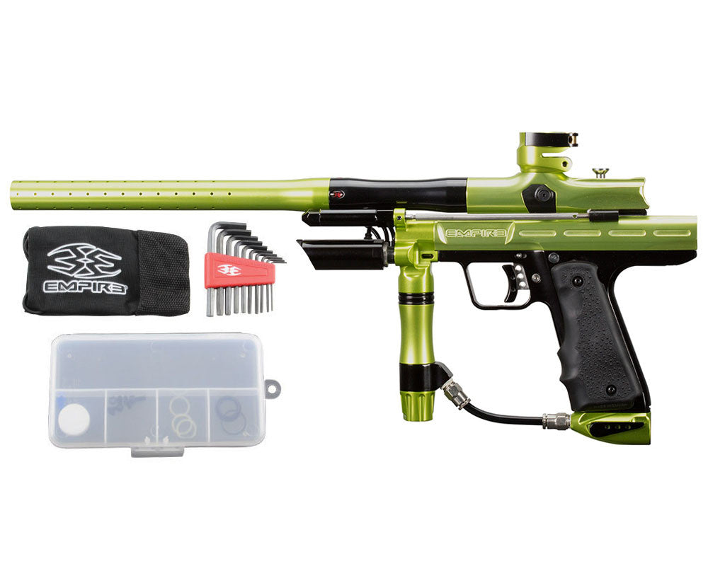 Empire Resurrection Autococker Paintball Gun - LTD Polished Green/Black