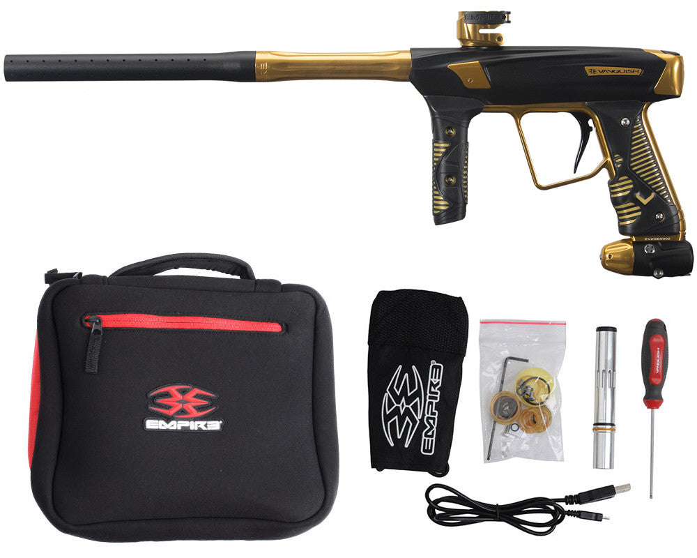 Empire Vanquish 2.0 Paintball Gun - Gold Strike