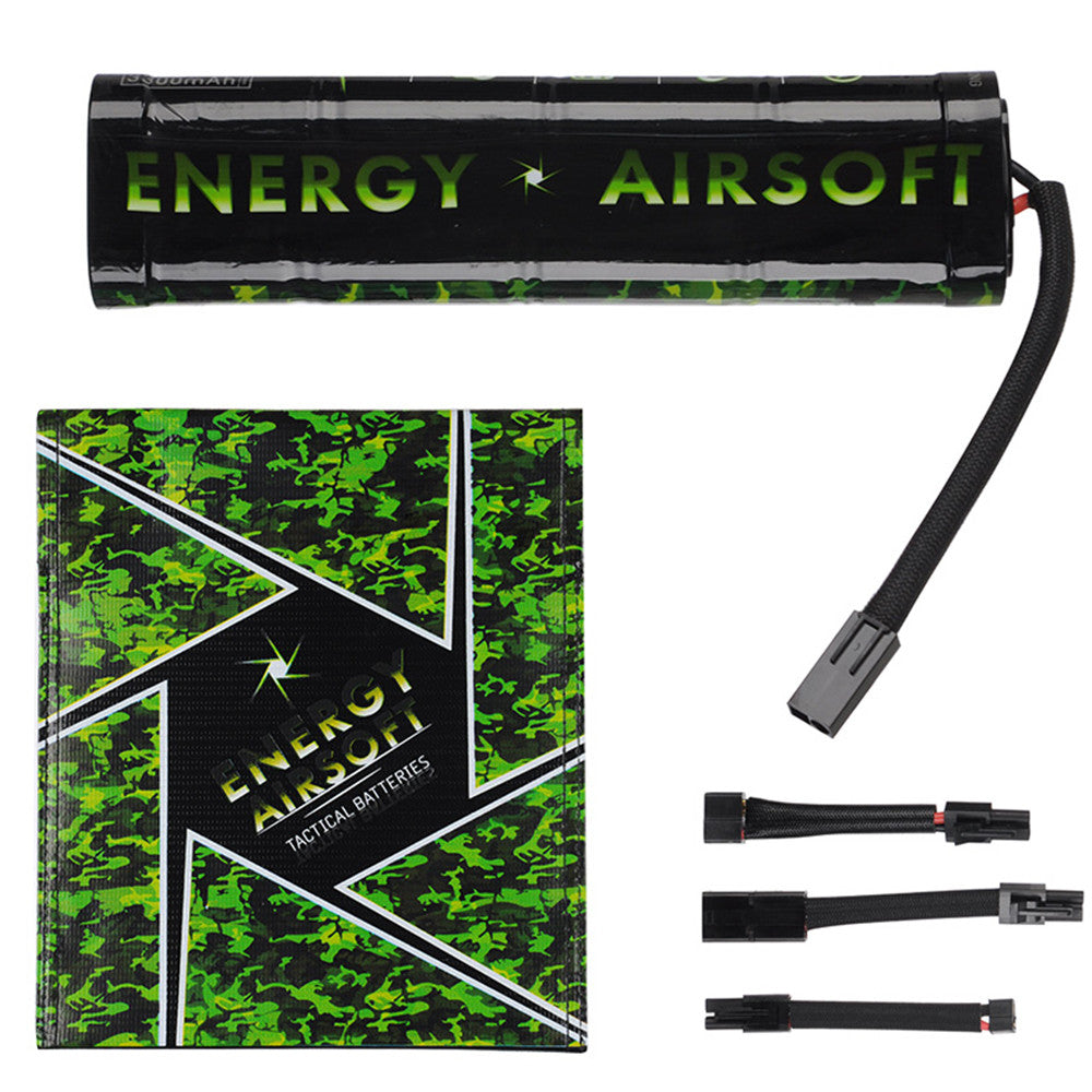 Energy Ni-MH 9.6v 3300mAh Tactical Airsoft Battery