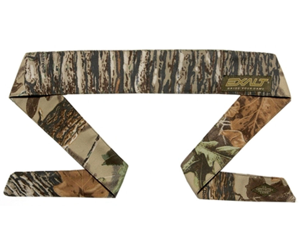 Exalt Camouflage Headband - Tan Tree Trunk