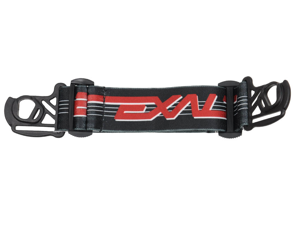 Exalt E-Vents Goggle Strap - Retro - Black/White