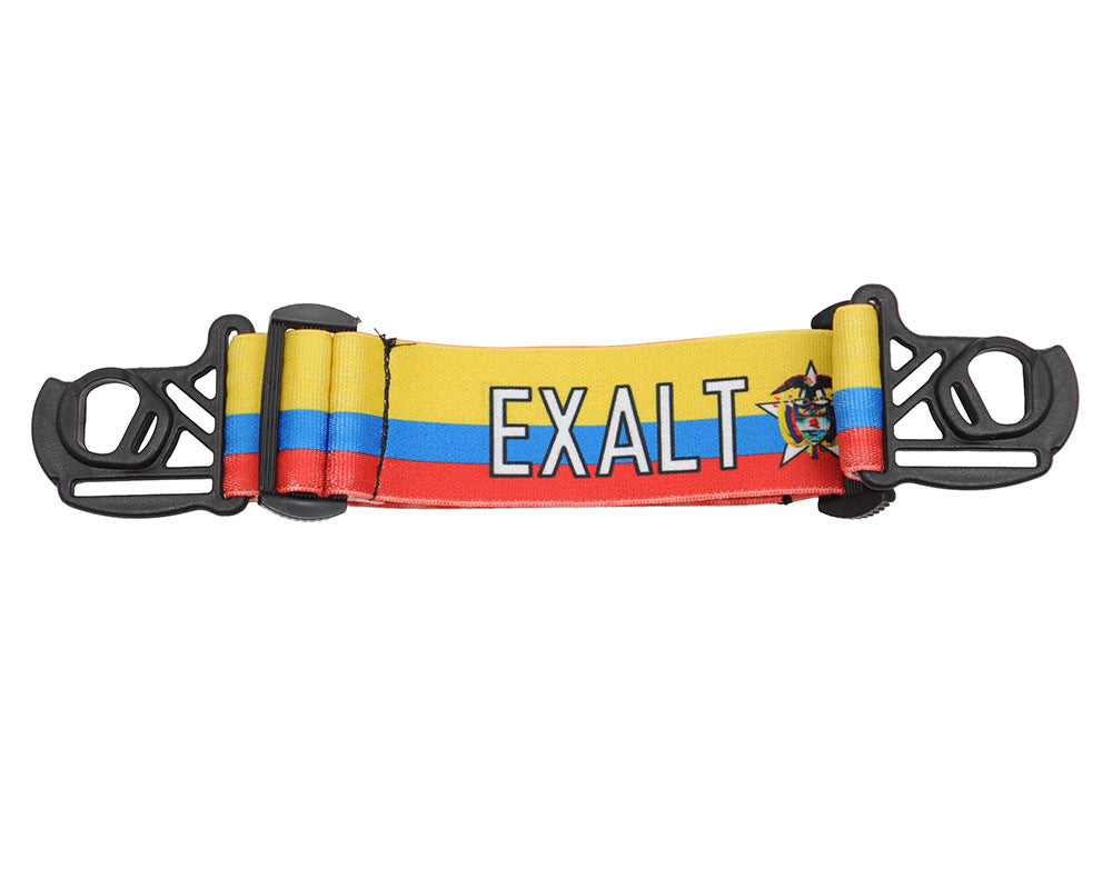 Exalt E-Vents Goggle Strap - Country - Colombia