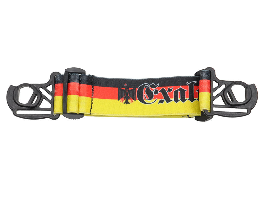 Exalt E-Vents Goggle Strap - Country - Germany