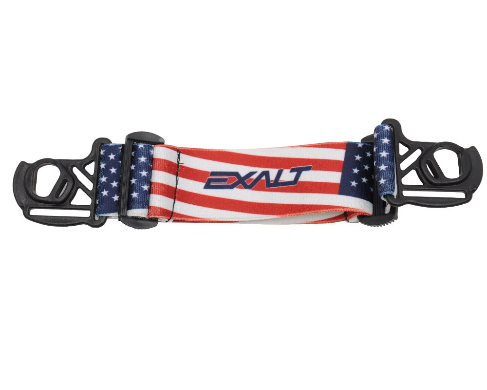 Exalt E-Vents Goggle Strap - Country - USA