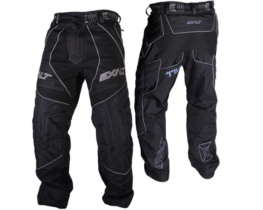 Exalt T4 Paintball Pants - Black/Gray