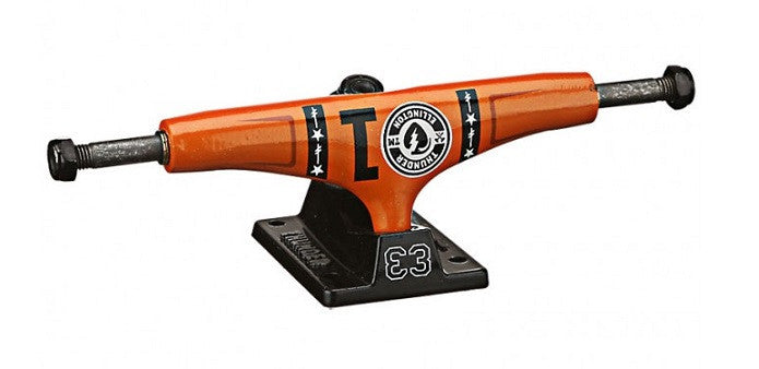Thunder Ellington E3 High - Orange/Black - 145mm - Skateboard Trucks (Set of 2)