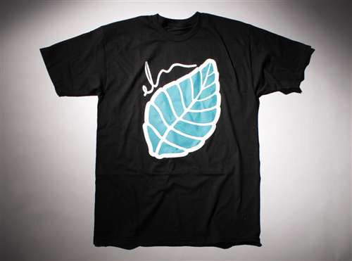 Elm Company The Leaf T-Shirt - Black - Mens T-Shirt