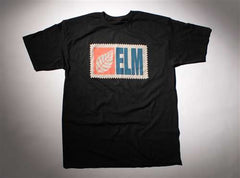Elm Company The Stamp T-Shirt - Black - Mens T-Shirt