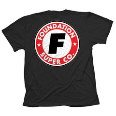 Foundation Super Co Short Sleeve - Black - Men's T-Shirt