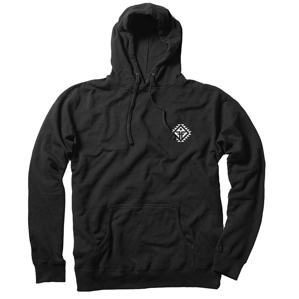 Fallen Spirit Pullover Hooded - Black - Men's Sweatshirt