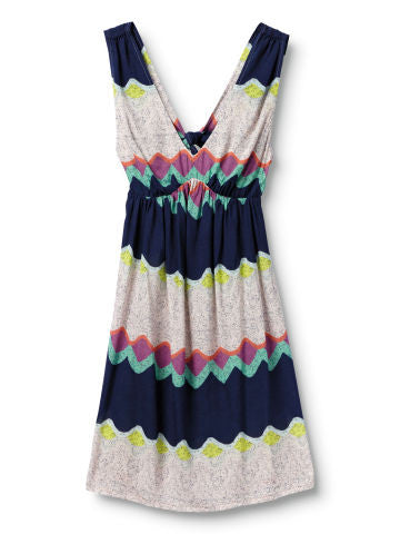 Quiksilver Lunar Shores Dress - Multi Colored - Dress
