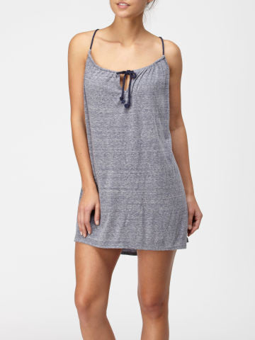 Quiksilver Highwater Dress - Grey - Dress