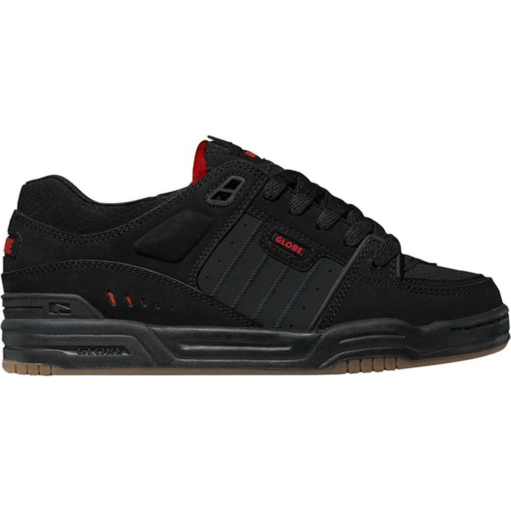 Globe Fusion - Black/Red/Night - Skateboard Shoes
