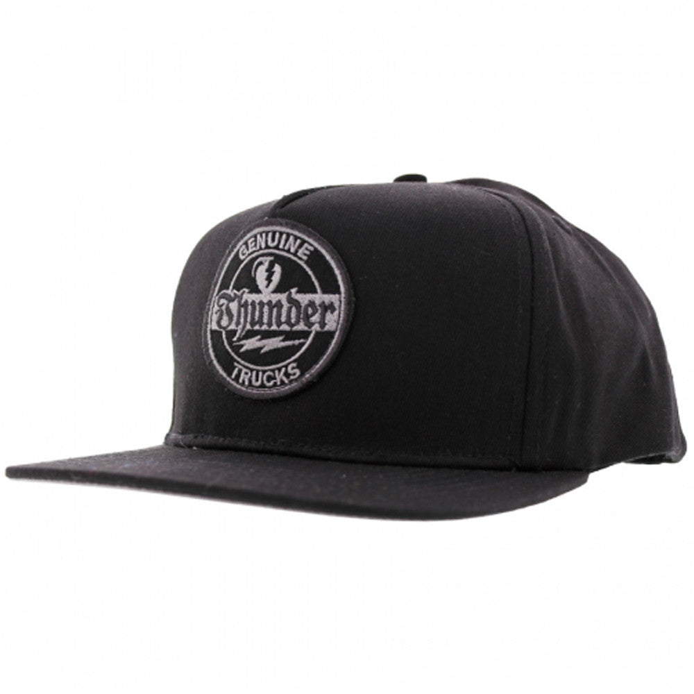 Thunder Adjustable Genuine Snapback - Twill - Men's Hat