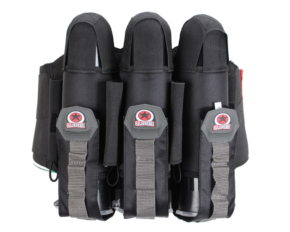 GI Sportz 3+4 Glide Paintball Harness - Black