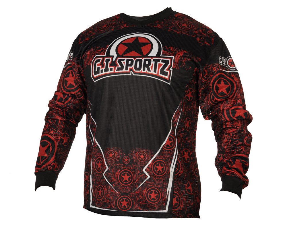 GI Sportz Herald Paintball Jersey - Red