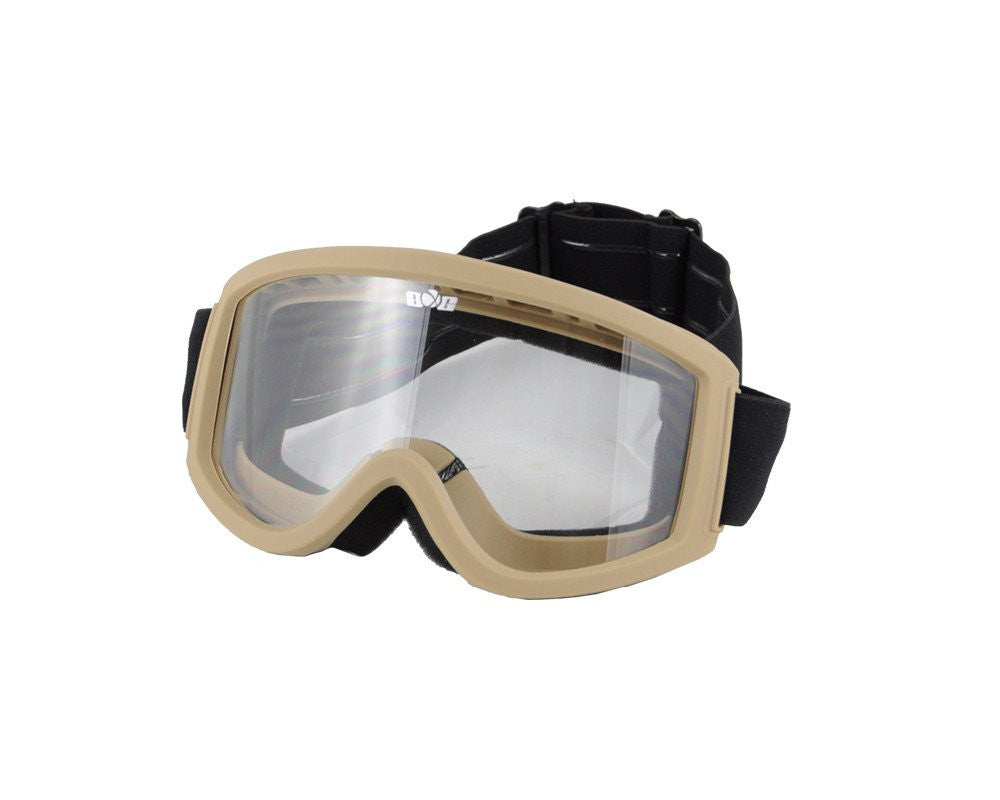Gen X Global Multi Purpose Airsoft Goggle - Tan