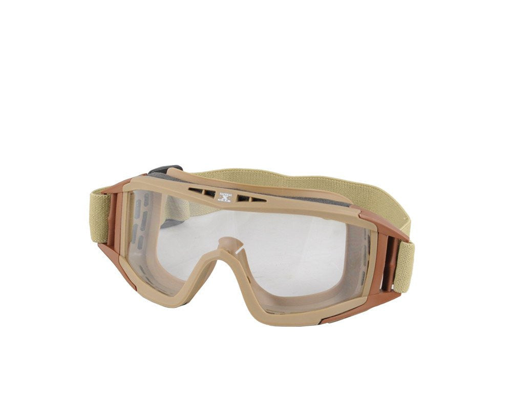 Gen X Global Tactical Airsoft Goggle - Tan