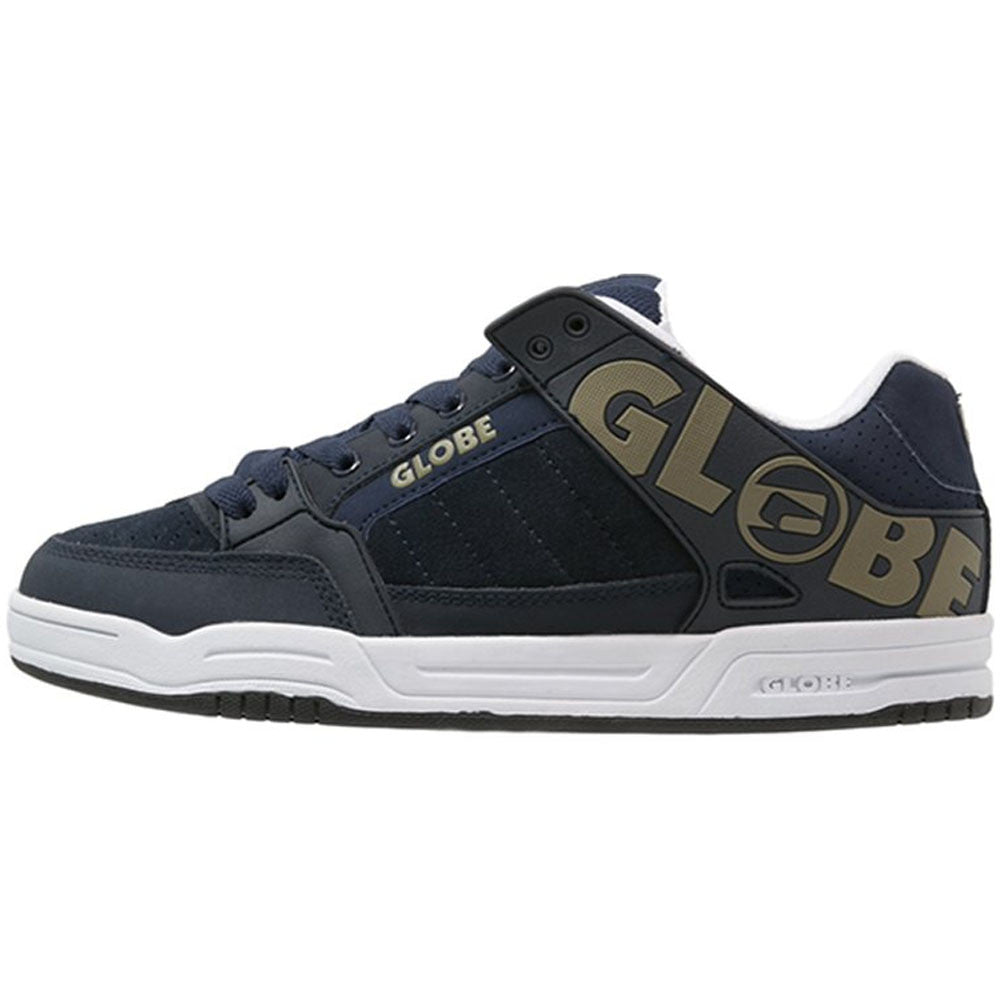 Globe Tilt - Navy/Olive - Skateboard Shoes