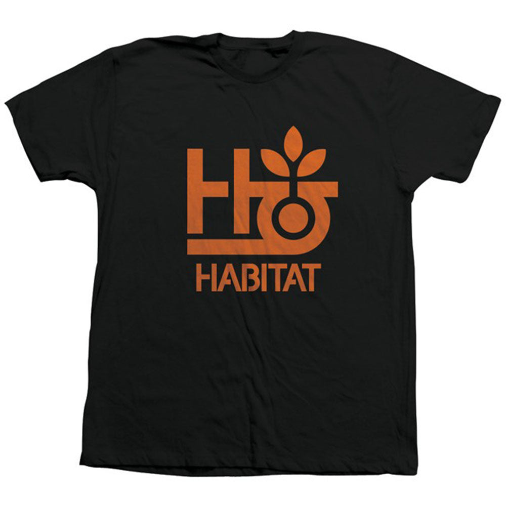 Habitat Pod Logo Short Sleeve - Black - Men's Shirt