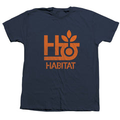 Habitat Pod Logo Short Sleeve - Navy - Men's Shirt