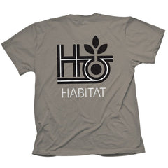 Habitat Pod Outline Short Sleeve - Charcoal - Men's Shirt