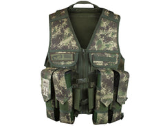 Planet Eclipse Tactical Load Paintball Vest - HDE Camo