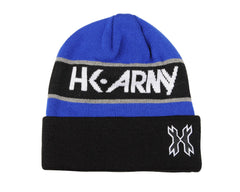 HK Army Attack Beanie - Black/Blue