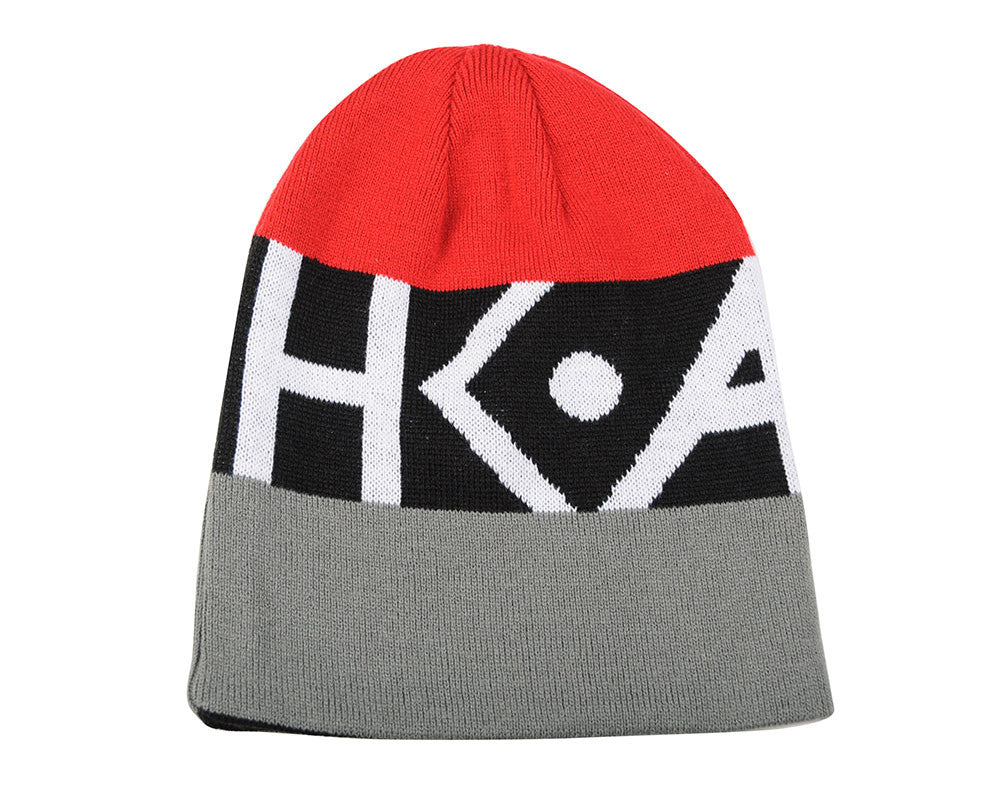 HK Army DVO Beanie - Red/Grey/Black